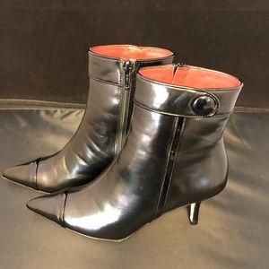 Beautiful NEW Coach heel boots